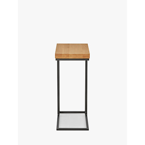 Buy john lewis calia sofa side table john lewis for Sofa side table