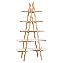 Buy Says Who for John Lewis Why Wood A Ladder Bookshelf Online at johnlewis.com