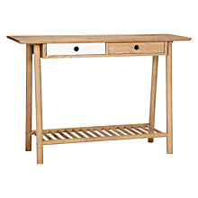 Buy Says Who for John Lewis Why Wood Console Table Online at johnlewis.com