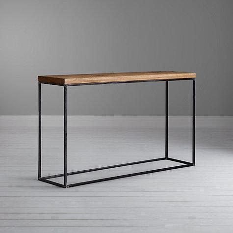 Buy john lewis calia console table john lewis for Sofa table john lewis