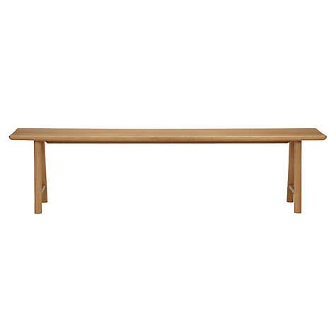 Buy Says Who for John Lewis Why Wood Bench, Large Online at johnlewis.com