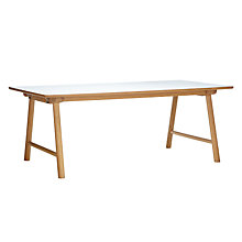 Buy Says Who for John Lewis Why Wood Extending Dining Table Online at johnlewis.com