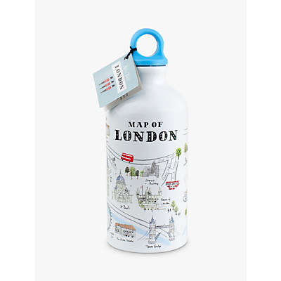 Alice Tait Map Water Bottle, 500ml, Multi