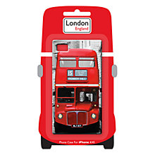 Buy Red Bus Case for iPhone 4 & 4S Online at johnlewis.com