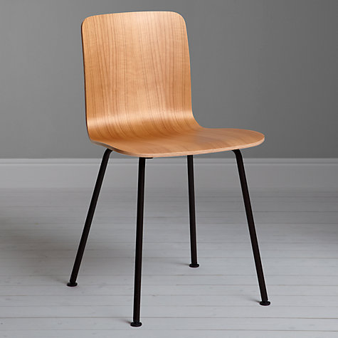 Buy Vitra Hal Dining Chair, Cherry / Chocolate Online at johnlewis.com