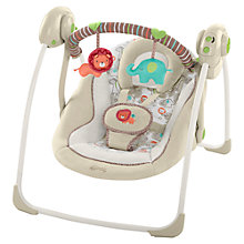 Buy Bright Starts Cozy Kingdom Portable Swing Online at johnlewis.com