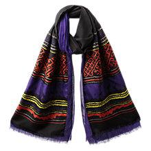 Buy East Mara Silk Layer Printed Scarf, Multi Online at johnlewis.com