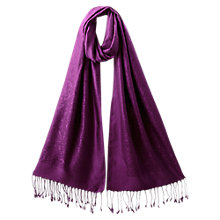 Buy East Paisley Jacquard Shawl, Amerthyst Online at johnlewis.com