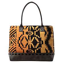 Buy East Aztec Canvas Tote Bag, Multi Online at johnlewis.com