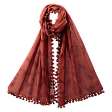 Buy East Super Soft Tie Dye Scarf, Henna Online at johnlewis.com