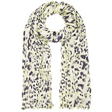 Buy Whistles Brushed Fur Crinkle Scarf Online at johnlewis.com