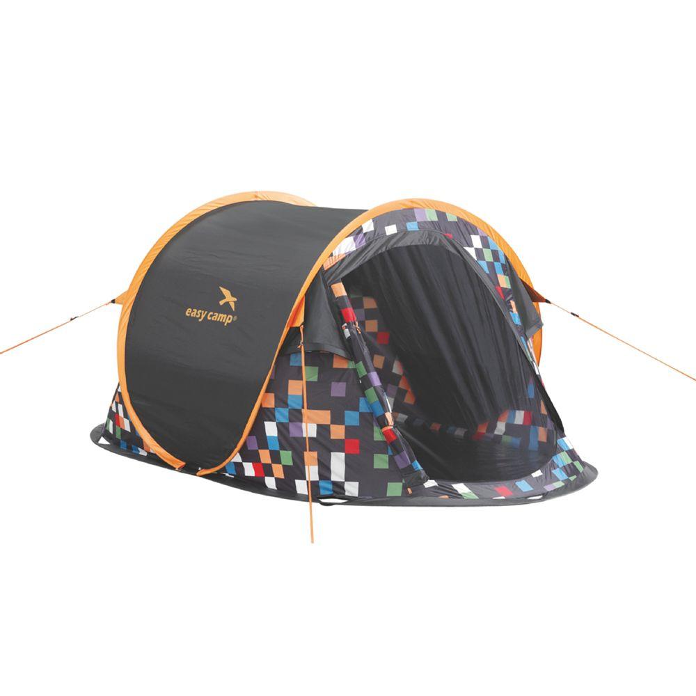 Easy Camp Easy Camp Antic Pixel Tent, Yellow/Black
