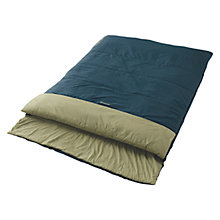 Buy Outwell Cube Double Sleeping Bag, Navy Online at johnlewis.com