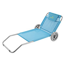 Buy Easy Camp Pier Lounge Chair, Blue Online at johnlewis.com