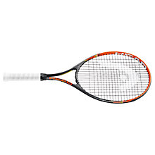 "Buy Head Radical 27"" Adult Tennis Racket, Black/Orange Online at johnlewis.com"