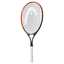 "Buy Head Radical 25"" Junior Tennis Racket, Black/Orange Online at johnlewis.com"