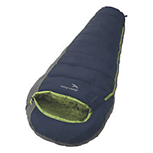 Buy Easy Camp Devil 300 Sleeping Bag, Navy Online at johnlewis.com