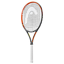 "Buy Head Radical 26"" Junior Tennis Racket, Black/Orange Online at johnlewis.com"