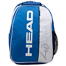 Buy Head Murray Team Pro Backpack, Blue/White Online at johnlewis.com