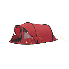 Buy Outwell Fusion 400 Tent, Red Online at johnlewis.com