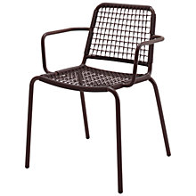 Buy Gloster Nomad Woven Stacking Chair with Arms Online at johnlewis.com
