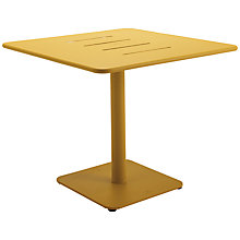 Buy Gloster Nomad Square 90cm Pedestal Dining Table Online at johnlewis.com