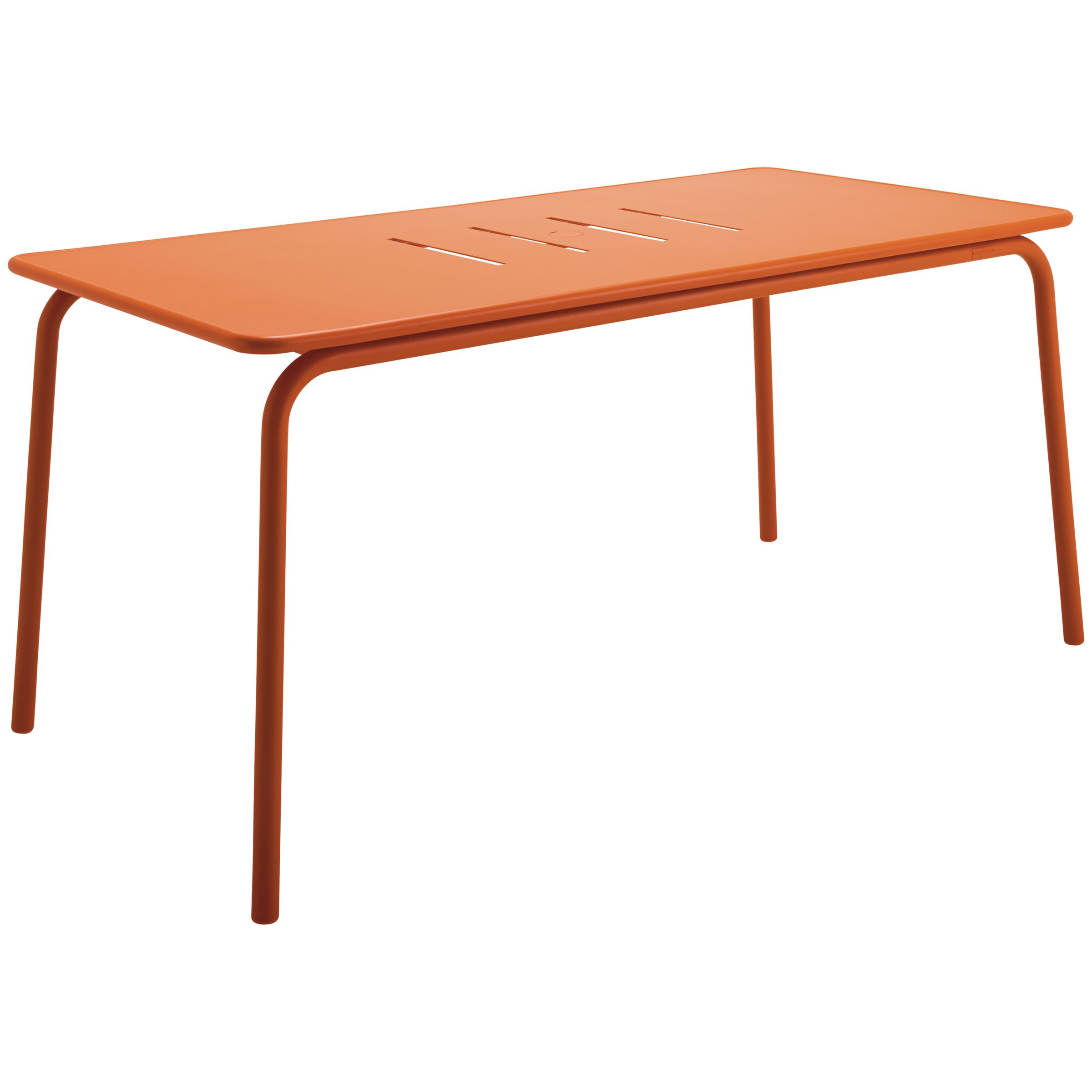 Gloster Nomad Rectangle Dining Table, Flame