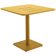 Buy Gloster Nomad Square 80cm Pedestal Dining Table Online at johnlewis.com