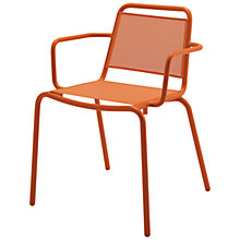 Buy Gloster Nomad Sling Stacking Chair with Arms Online at johnlewis.com