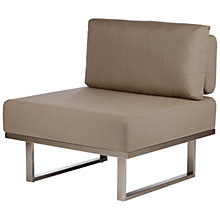 Buy Barlow Tyrie Mercury Deep Seating Middle Module Online at johnlewis.com
