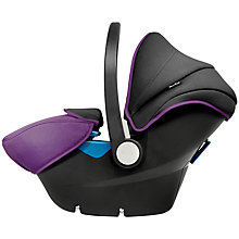 Buy Silver Cross Simplicity Group 0+ Baby Car Seat, Damson Online at johnlewis.com