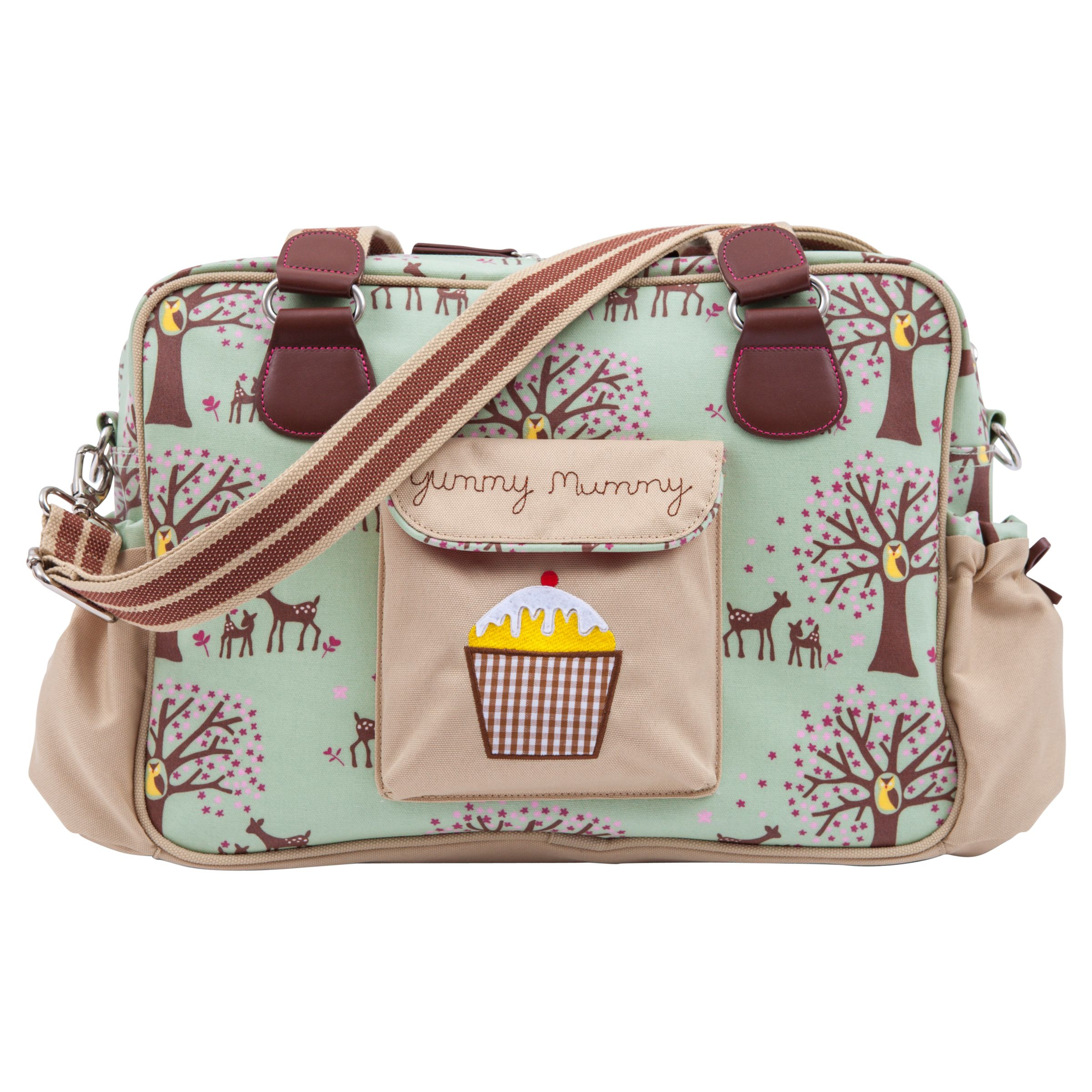 Pink Lining Yummy Mummy Changing Bag Woodland