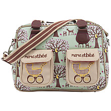 Buy Pink Lining Mama Et Bebe Changing Bag, Woodland Online at johnlewis.com