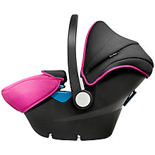 Buy Silver Cross Simplicity Group 0+ Baby Car Seat, Raspberry Online at johnlewis.com