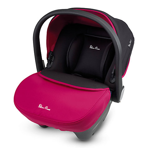Buy Silver Cross Simplicity Infant Carrier, Raspberry Online at johnlewis.com