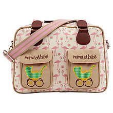 Buy Pink Lining Mama Et Bebe Changing Bag, Flamingo Online at johnlewis.com