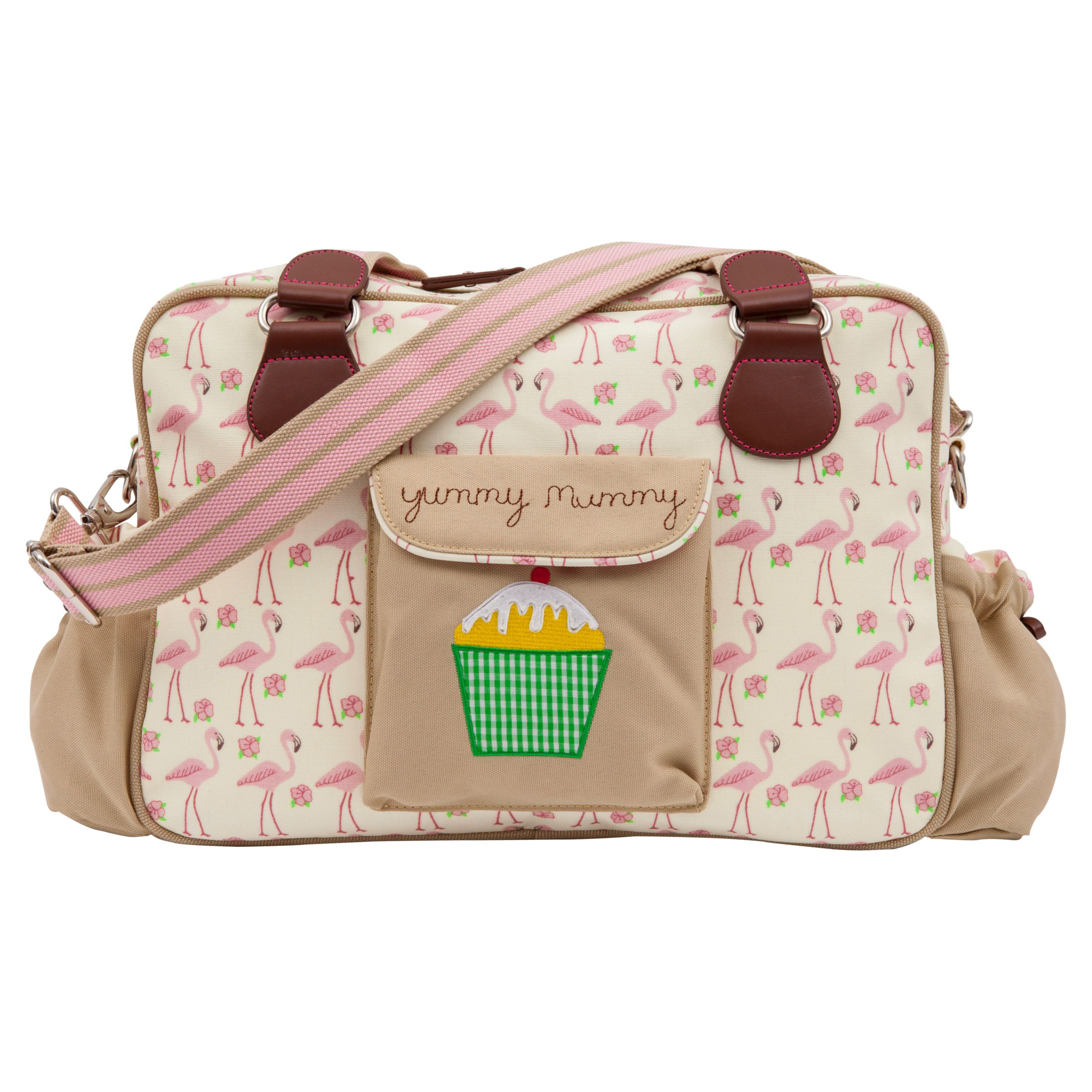 Pink Lining Yummy Mummy Changing Bag Flamingo