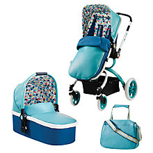 Buy Cosatto Ooba 3-in-1 Pushchair, Carrycot and Changing Bag, Duck Egg Online at johnlewis.com