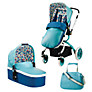 Cosatto Ooba 3-in-1 Travel System, Duck Egg with Car Seat