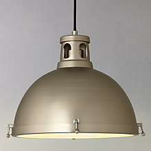 Buy John Lewis Neilson Open Top Utility Ceiling Pendant Online at johnlewis.com