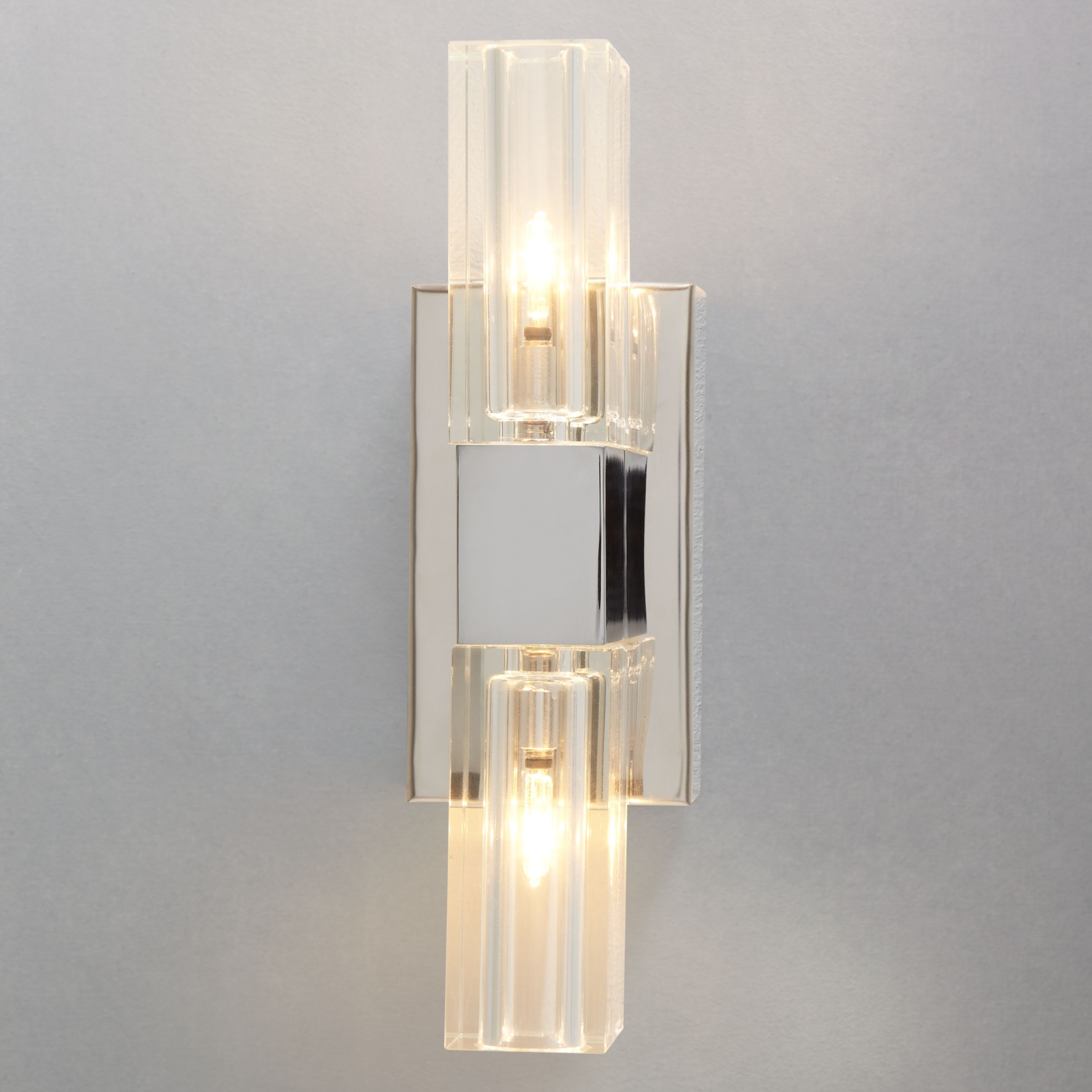John Lewis Wall Lights Glass : Buy John Lewis Fabrizio Crystal Two Wall Light John Lewis