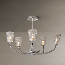 Buy John Lewis Julian Multi-armed Ceiling Light, 5 Arms Online at johnlewis.com