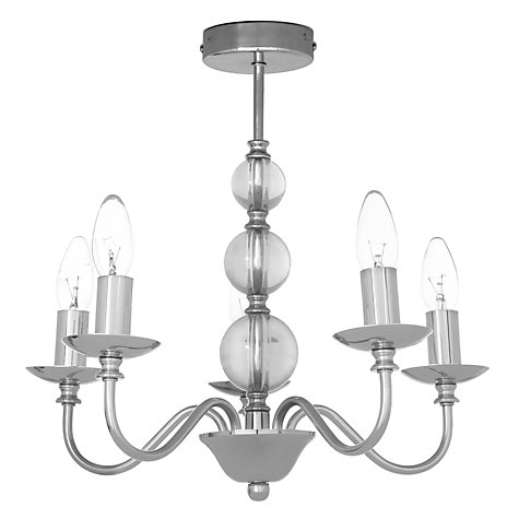 Buy John Lewis Lavinia Multi-arm Ceiling Light, 5 Light Online at johnlewis.com