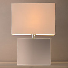 Buy John Lewis Carrow Touch Square Table Lamp Online at johnlewis.com