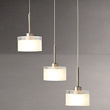 Buy John Lewis Paige Dangle Cluster Ceiling Light, 3 Light Online at johnlewis.com