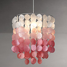 Buy John Lewis Easy-to-fit Tanya Shell Ceiling Shade Online at johnlewis.com