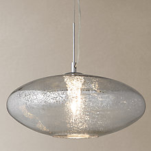Buy John Lewis Tabitha Mercury Glass Pendant Online at johnlewis.com