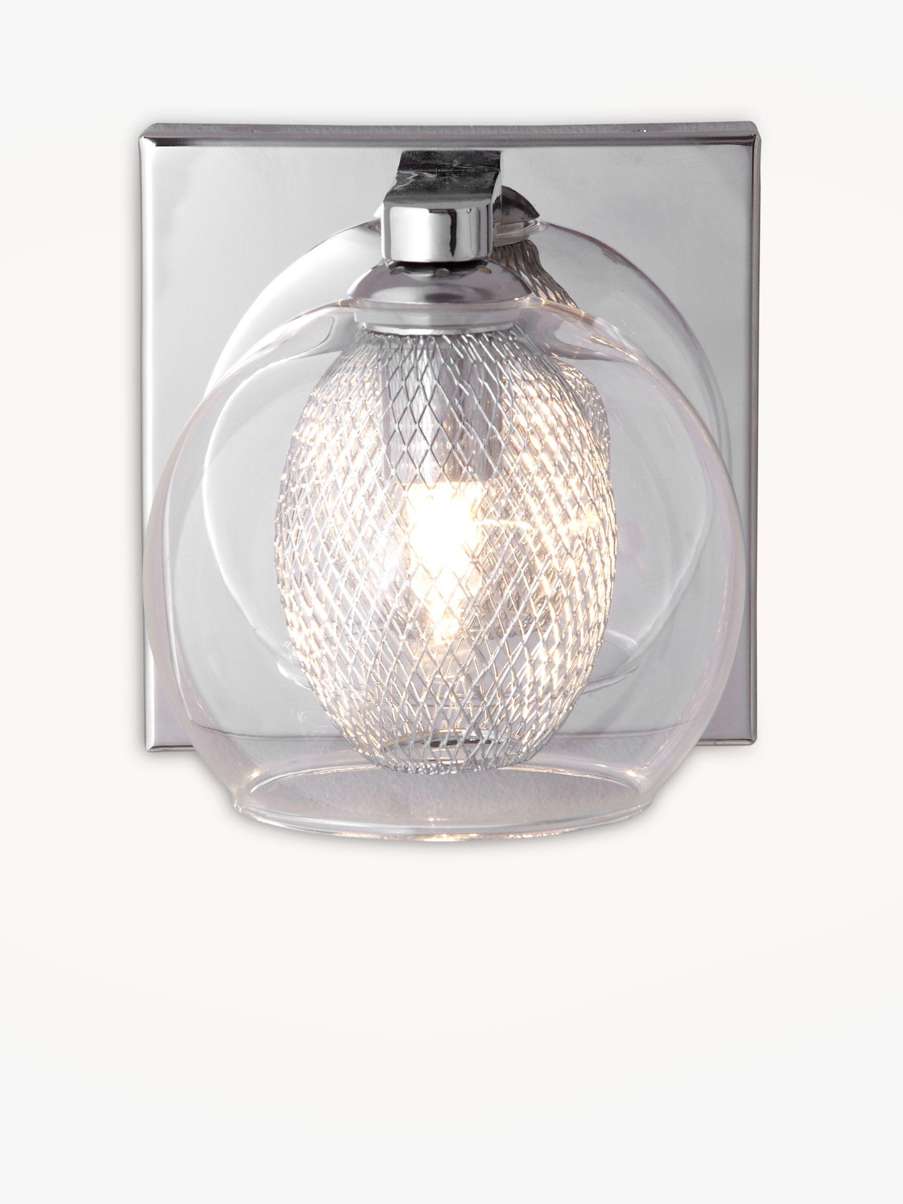 John Lewis Wall Lights Glass : Buy John Lewis Knightley Mesh Net Wall Light John Lewis