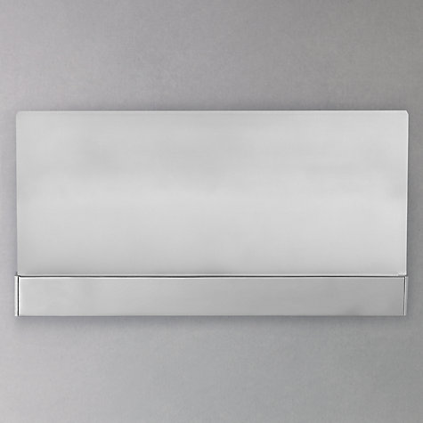 Buy John Lewis Teppo LED Glass Wash Wall Light, Opal Online at johnlewis.com