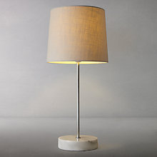 Buy John Lewis Minerva Marble Base Table Lamp Online at johnlewis.com